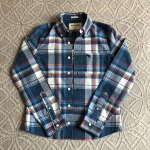🔹Boys long-sleeve preppy shirt